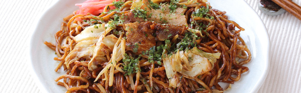 Online category banner yakisoba