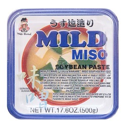 Miyasaka reduced salt red mild miso top