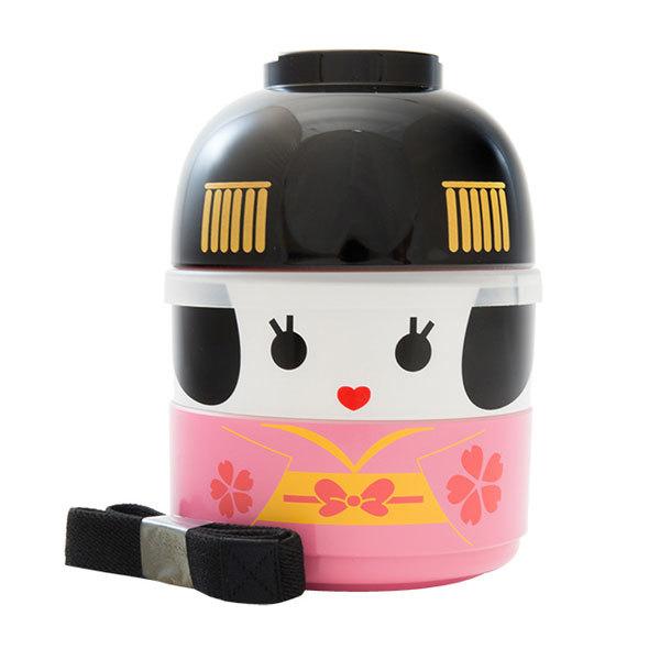 japan centre kokeshi doll bento lunch box small maiko bento. Black Bedroom Furniture Sets. Home Design Ideas