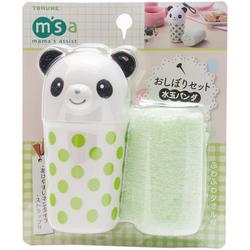10500 panda towel case set