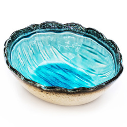 10605 oval bowl blue