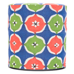10618 tea canister red gree