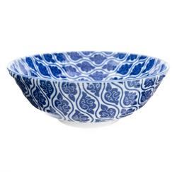 10672 ceramic noodle bowl cloud