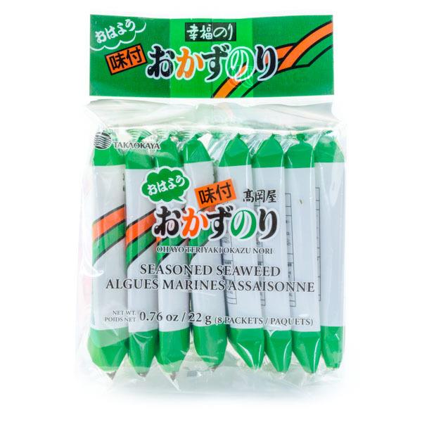 789 takaokaya nori seaweed 8 pack