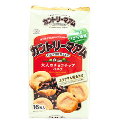 10969 fujiya country maam vanilla choc chip cookies