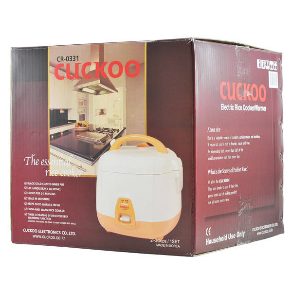 2361 cuckoo rice cooker box