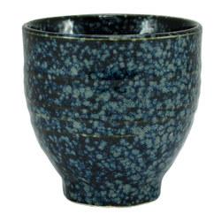 11246 teacup blue silver spots