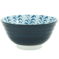 11250 rice bowl blue leaf front