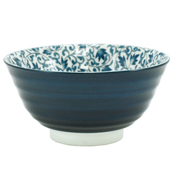 11251 rice bowl foliage scroll front