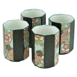 11299 teacup set plum blossom