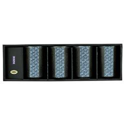11300 teacup set wave pattern box