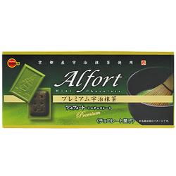 Bourbon alfort matcha chocolate biscuit