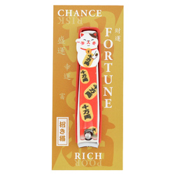 12448 corazon lucky cat nail clipper orange