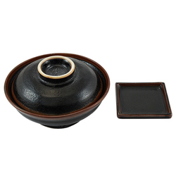 12600 ceramic noodle bowl garnish dish set