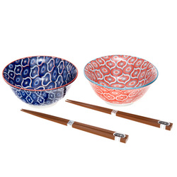 12300 ceramic bowl chopstick set main