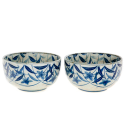 12302 ceramic bowl set front