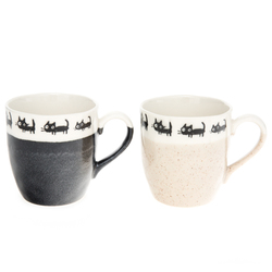 12314 ceramic mug set cat