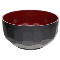 12347 sode bowl black red