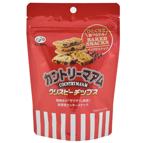 12638 fujiya country maam crispy chips baked chocolate chip cookies