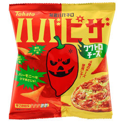 12750 tohato spicy hot habanero pizza potato snacks