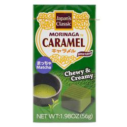 12746 morinaga matcha caramel chewy candy