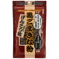 12709 seiki black sesame and kinako soy bean flour sweets
