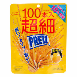 12777 glico super thin salted butter pretzel sticks