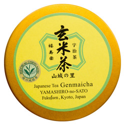 12812 fukujuen yamashiro no sato loose leaf genmaicha brown rice tea