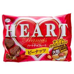 12822 fujiya heart peanut chocolates