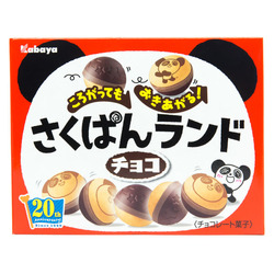 12835 kabaya rolling panda chocolate biscuits