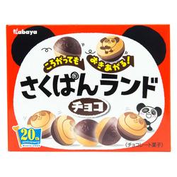 12835 kabaya rolling panda chocolate biscuits
