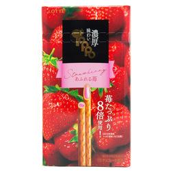 12830 lotte toppo strawberry filled pretzel sticks