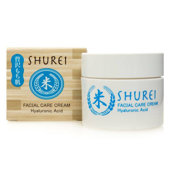 12845 naris shurei facial care cream hyaluronic acid