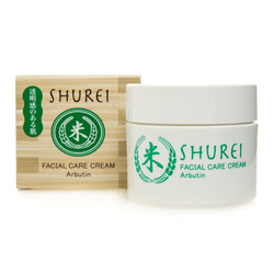 12856 naris shurei facial care cream arbutin