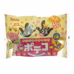12860 tohato poteko hina matsuri potato ring snacks shrimp mayonnaise
