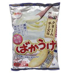 12894 kuriyamabeika cream cheese rice crackers