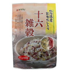 12896 kato sangyo sixteen mixed grain rice seasoning