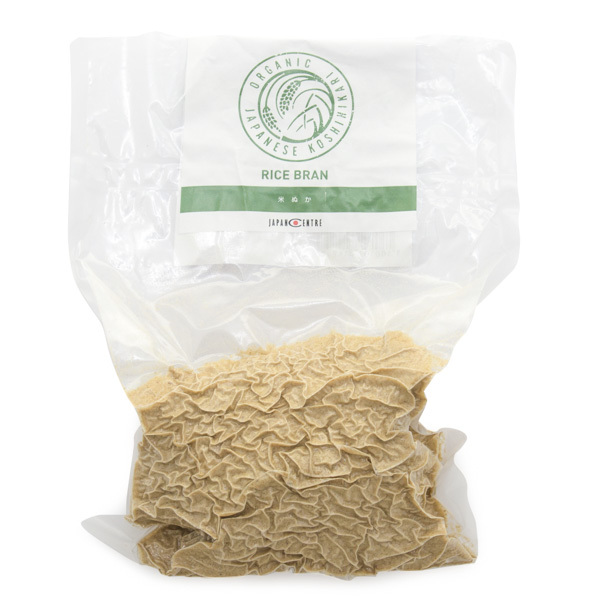 10960 freshly milled organic rice bran package