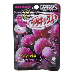 12912 mikakuto shigekix super sour grape gummy candy