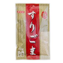 1490 mitake crushed roasted white sesame seeds