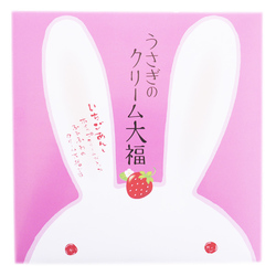 Rabbit cream strawberry dai