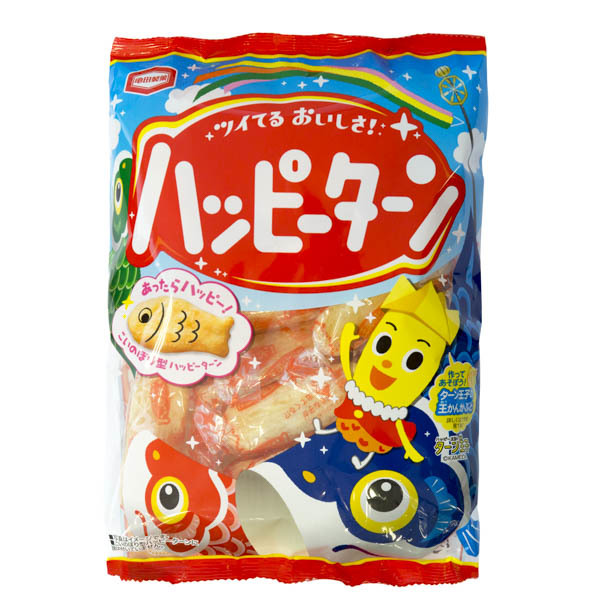 11134 kamedaseika happy turn soft rice crackers for childrens day