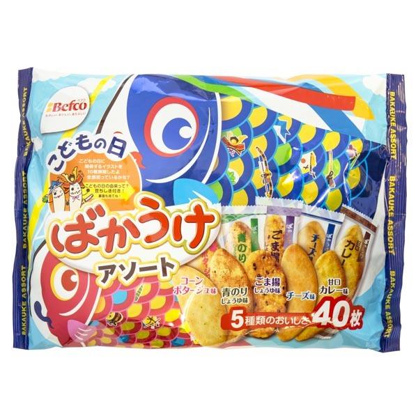 6955 kuriyamabeika assorted rice crackers for childrens day