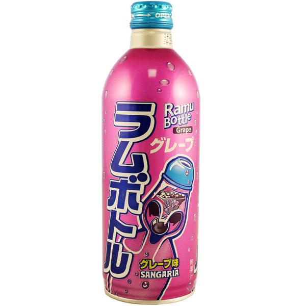 Japan Centre - Sangaria Ramu Bottle Grape Soda - Soft Drinks