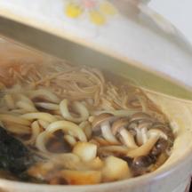 Photo mushroom udon