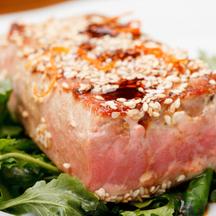 Photo sesame tuna
