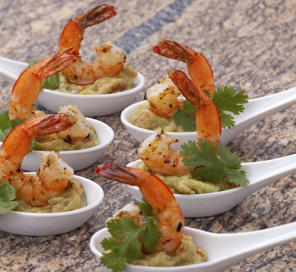Prawn and wasabi guacamole canap s recipe japan centre for Canape ingredients