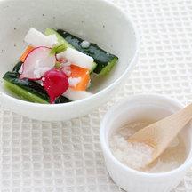 Shio koji asazuke salad