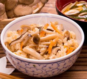 Mushroom donburi