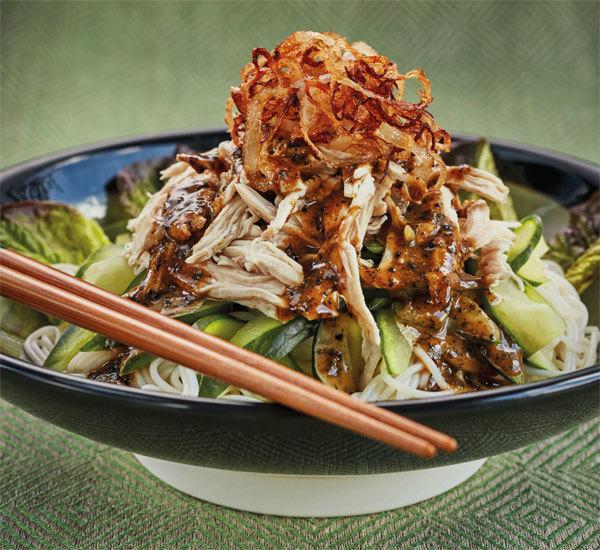 Bang Bang Chicken with Soba Noodles